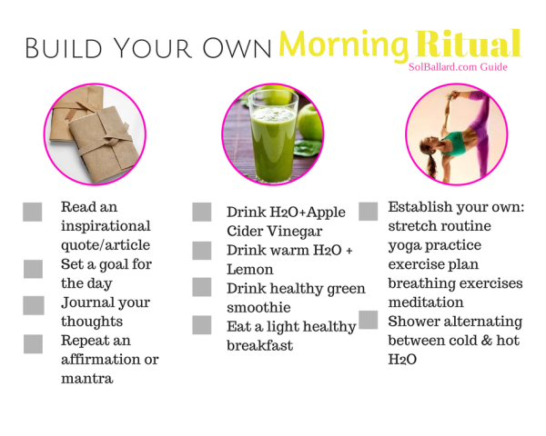 Build Your Own Morning Ritual