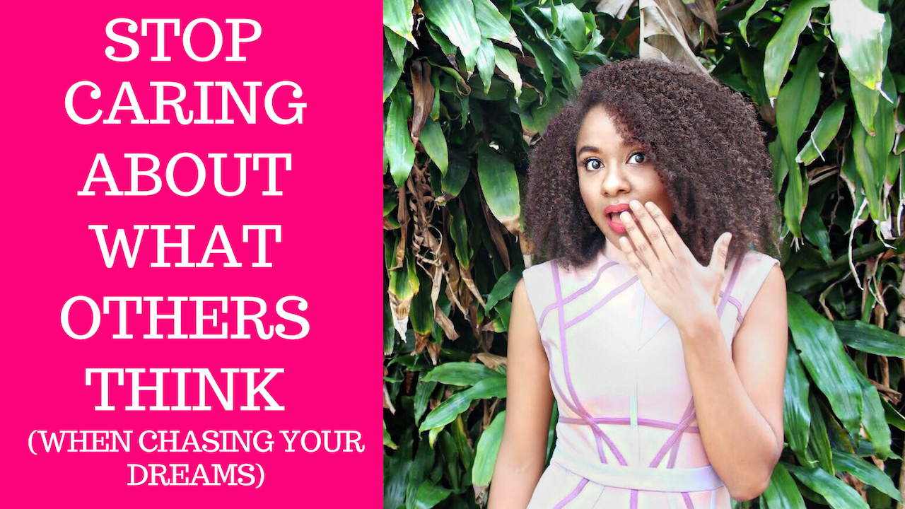 Stop Caring About What Others Think